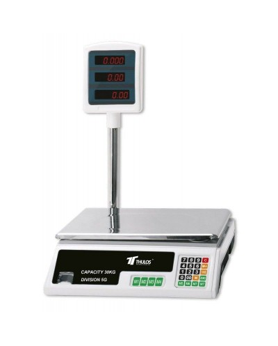 Electric digital scale, 30kg capacity. Thulos TH-BD30