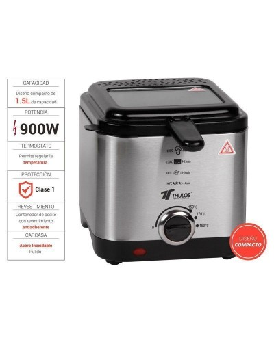 Electric fryer with...