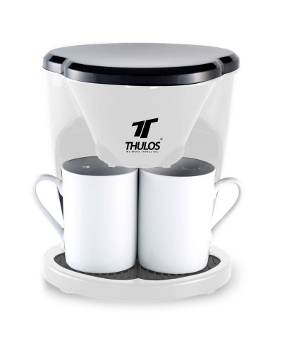 Coffe maker with two cups, 450W. THULOS TH-CM03