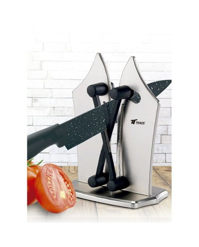 Knife Sharpener. For smooth and serrated blade knives....