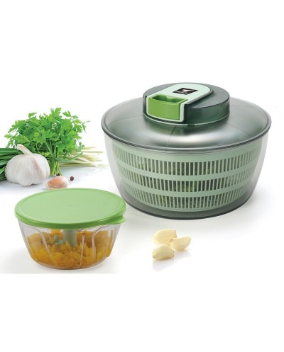 Salad Spinner and Mini Chopper. THULOS TH-KA025