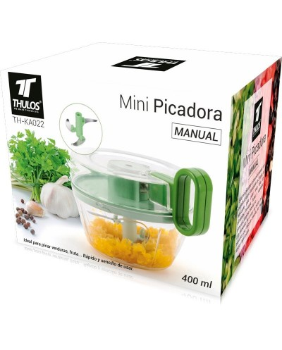 TH-KA022 - Mini Picadora manual, 400ml. THULOS TH-KA022 - Thulos