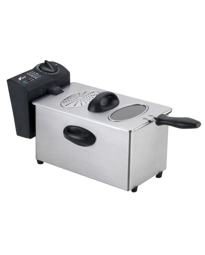 Electric fryer 2.5L, double thermostat, 2000W. Thulos...