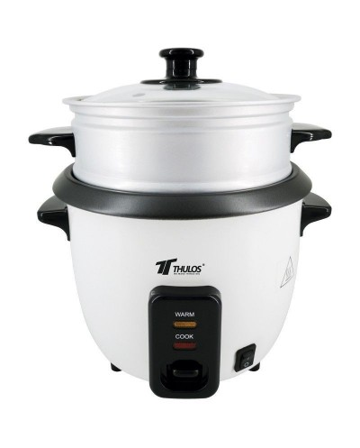Electric rice cooker 0.6L (2-3 servings). THULOS TH-RK06