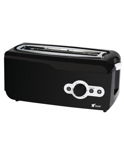 TH-TV751 - Tostador de ranura extra ancha, 750W, 6 niveles de tostado. THULOS TH-TV751 - Thulos